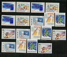 "Cyprus #869-870 X (3) & #872-875 X (3) (CY319) Comp ""SPECIMEN"" O/P MNH, VF"