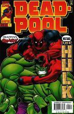 DEADPOOL #4, Marvel Comics, First Print, NM shape, (1997)  Vs HULK