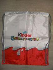 Ferrero Kinder Überraschung Ei Ü-Ei Sports-Bag Sportbag Tasche Turnbeutel Neu