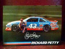 Richard PETTY #43 NASCAR STP Goodyear Diehard Photo Vintage metal Sign LAST ONE!