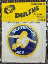 Vintage 1969 The Show Offs Emblems - Skateboard Ace - 2 Available