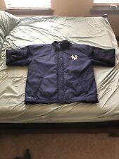 Adidas New York Yankees Navy Snap Front Jacket XL VTG