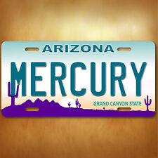 Phoenix  MERCURY WMBA Arizona Aluminum License Plate Tag New
