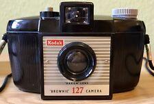 "Kodak Six-20 Brownie C 127 vintage box macchina fotografica con lenti ""dakon"""