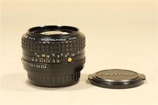 SMC PENTAX-A 50mm f/1.4 K mount lens