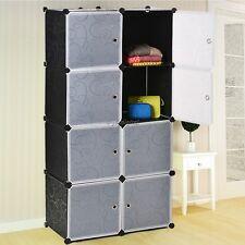 Luxury 8 Cube Storage Set Tough Grid System Modular Organizational Design