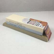 Suehiro Japanese Sharpening Stone Dual-Sided #1000 and #3000 Grit w/ Rubber Base