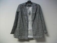 Missguided Printed Longline Blazer UK 8 Petite JS002 HH 03