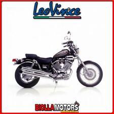 2201 POT LIGNE FULL LEOVINCE YAMAHA XV 535 VIRAGO 1991- SILVERTAIL K02 ACCIAO CH