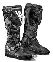 Sidi Xtreme Enduro Trials MX Motocross Off Road Motorbike Boots - Black/Black