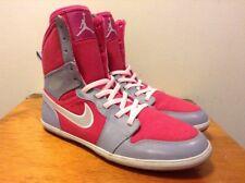 Nike Air Jordan 1 Skinny Hyper Fuchsia Pink Grey GS Grade School 5.5Y 602656-608