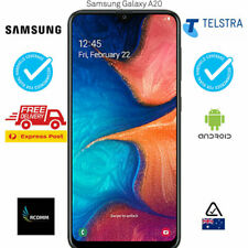 TELSTRA SAMSUNG Galaxy A20 2019 (4GX, BlueTick,32GB/3GB) BLACK [AU STOCK] SEALED