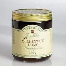 Eichenwald Honig 100% naturreiner Bienenhonig Spanien Premiumqualität 500g Glas