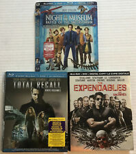 Bluray Slipcovers (Expendables, Total Recall, Night At The Museum, NO DISCS) Cad