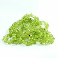 Peridot 90cm Chip Continuous strand beads EA2125 crystal gem healing reiki