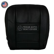 2008 Ford F-250 4X4 Single Cab Driver Bottom Synthetic Leather Seat Cover Black