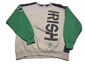 Notre Dame Fighting Irish Starter Sweatshirt Vintage Size XL 90s 00s College A3