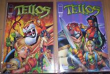 Tellos (allemand) # 1 + 2 Complet-Marvel Génération Comics 2000-TOP