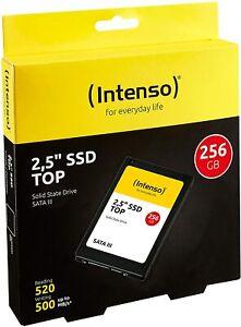HARD DISK SSD STATO SOLIDO 2,5 INTENSO TOP 256GB SATA III 6Gb/s
