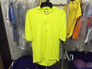 New Neon Yellow/Green Canari Short Sleeve Jersey...Men's XX-Large (2nd Quality)