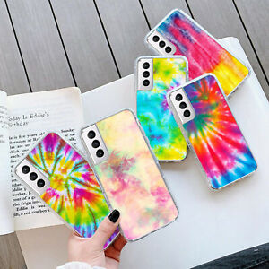 TIE-DYE GEL PHONE Case Cover For Samsung S21 Plus Ultra 240