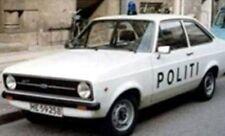 TROFEU SNMC027 FORD ESCORT Mk.II diecast Police car Denmark Politi 504 only 1:43