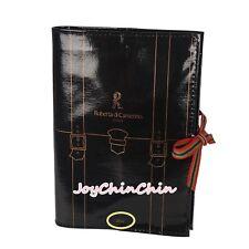Roberta Di Camerino Black Agenda Schedule Book Cover Japan Rare!