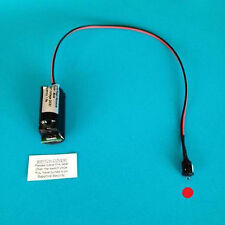 Alarma ficticia Caja de batería LED de módulo-Solo Rojo Flash Led De 10 Años De Garantía!