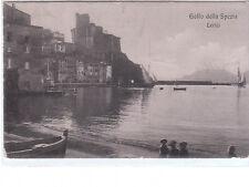 CARTOLINA GOLFO DELLA SPEZIA - LERICI - VIAGGIATA 1908