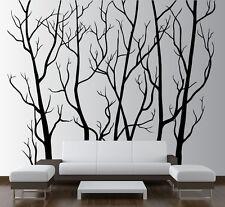 Large Wall Art Decor Vinyl Tree Forest Decal Sticker Nursery Birch Tree Birds