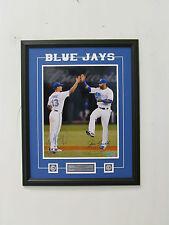Toronto Blue Jays Brett Lawrie Jose Bautista Dual Signed MLB Framed 16x20 Photo