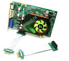 Sintech high speed PCI-e express 1X Riser Extension Card with 20cm FPC Cable