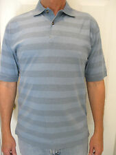 PANAMA JACK RESORT China Blue 100 % Cotton Polo Size S, NWT