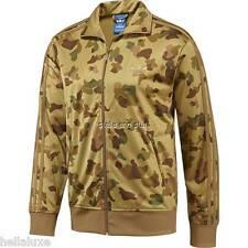 Adidas ADICOLOR FIREBIRD CAMO ADI Track sweat shirt Jacket superstar Top~Men Lrg