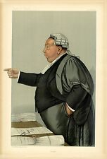 BRITISH LAWYER COMMISSIONER OF INLAND REVENUE VANITY FAIR LAWYER CARICATURE