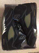 Air Jordan Retro V 5 Black/University Blue UNC Infrared Concord Yeezy Size 10.5