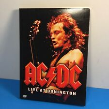 AC/DC - Live at Donington (DVD, 2003) heavy metal music back in black tnt