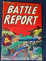 "1952 "" Battle Report "" # 1 Issue No CGC GPA Listing and Highest Census !"
