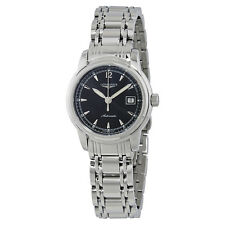 Longines Saint-Imier Black Dial Ladies Stainless Steel Watch L2.563.4.59.6