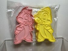 DISNEY CAKES AND SWEETS CUTTERS CHIP AND DALE CHIPMONKS EAGLEMOSS
