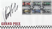Damon Hill Hand Signed Grand Prix First Day Cover F1 Rare.