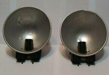 2 VINTAGE CAMERA FLASH REFLECTORS