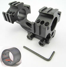 """New Tri-Rail Cantilever 20mm Rail Mount Dual 30mm&1""""25mm Ring For Scope/Rifl 70"""