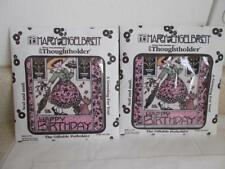 2 Mary Engelbreit THOUGHTHOLDER Giftable POTHOLDER HAPPY BIRTHDAY SEAL MAIL lot