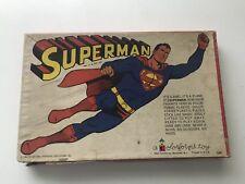 VINTAGE SUPERMAN 1964 COLORFORMS TOY