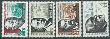 1965 RUSSIA POETI E SCRITTORI SOVIETICI MNH ** - UR5-4