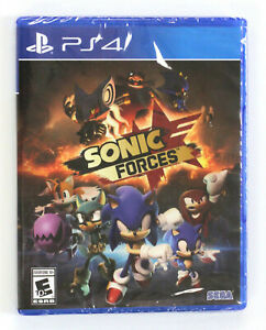 Sonic Forces PS4 (Sony PlayStation 4, 2017)