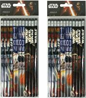 24 pc Disney Star wars pencils school supplies Birthday party favor goodie bag