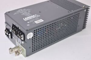 Lambda LRS-55-24, Regulated Power Supply, Input 95-132 VAC, 47-63 Hz, 6.9A MAX