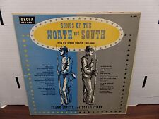 Songs of the North and South DL-8093 Frank Luther Zora Layman 33rpm 081616DBE